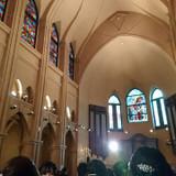 ステンドグラスが印象的な大聖堂