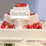 ケーキの種類は無料のデザインが多かったで