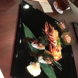 エビも、フォアグラのお寿司も美味でした!