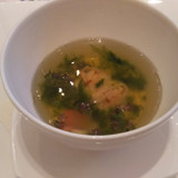 試食でいただいたスープ