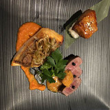 フォアグラのお寿司が絶品!