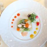 小海老と地元野菜のプレッセ