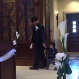 挙式時の入場