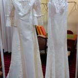 マーメイドタイプと七分丈のドレス