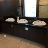 披露宴会場のトイレ。