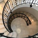 螺旋階段(本会場一番のフォトスポット)