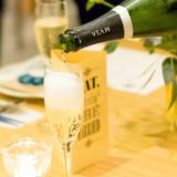 乾杯はシャンパン