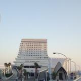 ホテルの手前に独立型チャペルあり。