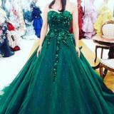 ラインが綺麗なドレスでした!