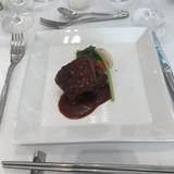 牛ヒレ肉で硬さは普通。
