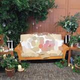 高砂ソファの装飾(計15万円)