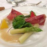 野菜と生ハムのミックスサラダ