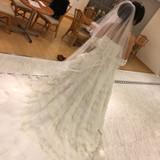 試着のドレス