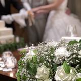 テーブル装花は10万位にしないと寂しい