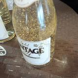金粉シャンパン