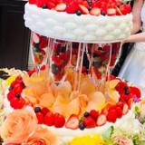 weddingケーキ
