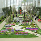 式当日の温室