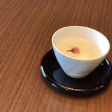 待合室で出された桜茶
