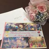 パンフレットとお花です!嬉しかった!