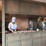 アフターリビングに併設されたキッチン