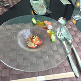エビ、ウニ、キャビアの前菜