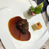 メインの黒毛和牛フィレ肉のポワレ