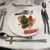 鮮魚のセミクロード鮮やかな旬野菜と共に