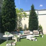ガーデンの雰囲気が素敵でした!