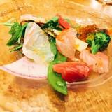 魚を用いた前菜です。
