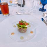 前菜 お魚のカルパッチョ