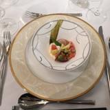 カナダ産オマール海老と季節野菜のムース