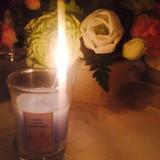 キャンドルリレーの暖かな灯火