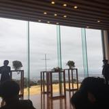 日本平からの景色が一望できるチャペル