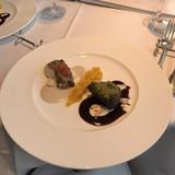 お肉料理とお魚料理