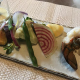 野菜と海老