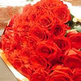 サプライズでバラの花束をもらいました!