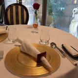 試食時のテーブルコーディネート
