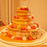 最高に美味しかったウェディングケーキ