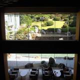 2階から見た日本庭園