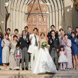 家族挙式 セントアクアチャペル仙台