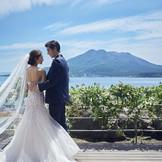 桜島を望む写真スポット