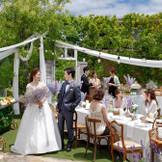 ガーデンでゲストの皆さまと楽しい時間を過ごしましょう♪ベルフリーガーデンのお庭だからこその過ごし方も!!