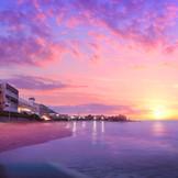 「SCAPES」は、閑寂な砂浜が続く森戸海岸に佇むデザインホテル。