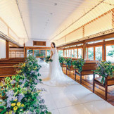 日本建築の温もりと自然光に包まれあたたかな誓いの時を過ごして