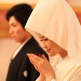 神殿での和装婚もおすすめです。