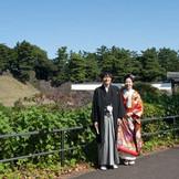 桜田門での撮影は和装にぴったりです♪