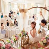 ゴンドラ入場はとびきりテンションが上がる!花嫁にとっても一番の笑顔で登場できるシーン