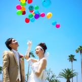 新郎新婦お二人とゲストの幸せが天まで届くよう願いを込めて。