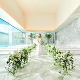 純白のチャペルは一目ぼれする花嫁も多い