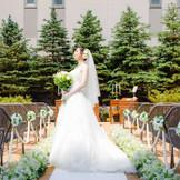「ザ・ガーデンウェディング」イメージ写真